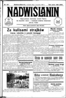 Nadwiślanin. Gazeta Ziemi Chełmińskiej, 1932.09.11 R. 14 nr 207