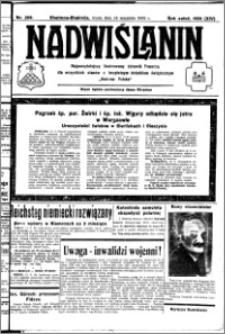 Nadwiślanin. Gazeta Ziemi Chełmińskiej, 1932.09.14 R. 14 nr 209