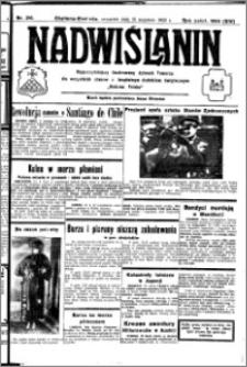 Nadwiślanin. Gazeta Ziemi Chełmińskiej, 1932.09.15 R. 14 nr 210