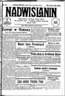 Nadwiślanin. Gazeta Ziemi Chełmińskiej, 1932.09.16 R. 14 nr 211