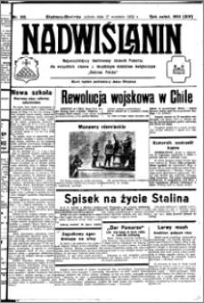 Nadwiślanin. Gazeta Ziemi Chełmińskiej, 1932.09.17 R. 14 nr 212