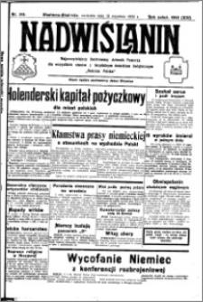 Nadwiślanin. Gazeta Ziemi Chełmińskiej, 1932.09.18 R. 14 nr 213