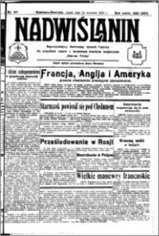 Nadwiślanin. Gazeta Ziemi Chełmińskiej, 1932.09.23 R. 14 nr 217