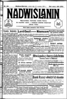 Nadwiślanin. Gazeta Ziemi Chełmińskiej, 1932.09.24 R. 14 nr 218