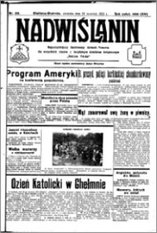 Nadwiślanin. Gazeta Ziemi Chełmińskiej, 1932.09.25 R. 14 nr 219