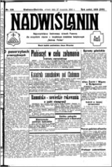 Nadwiślanin. Gazeta Ziemi Chełmińskiej, 1932.09.27 R. 14 nr 220