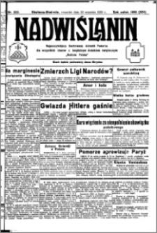 Nadwiślanin. Gazeta Ziemi Chełmińskiej, 1932.09.29 R. 14 nr 222