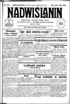 Nadwiślanin. Gazeta Ziemi Chełmińskiej, 1932.10.02 R. 14 nr 225