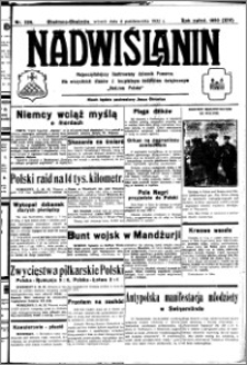 Nadwiślanin. Gazeta Ziemi Chełmińskiej, 1932.10.04 R. 14 nr 226