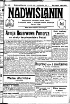 Nadwiślanin. Gazeta Ziemi Chełmińskiej, 1932.10.06 R. 14 nr 228