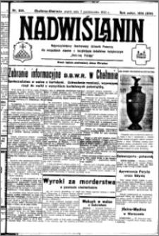 Nadwiślanin. Gazeta Ziemi Chełmińskiej, 1932.10.07 R. 14 nr 229