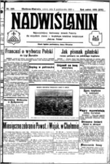 Nadwiślanin. Gazeta Ziemi Chełmińskiej, 1932.10.08 R. 14 nr 230