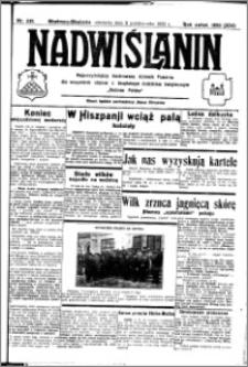Nadwiślanin. Gazeta Ziemi Chełmińskiej, 1932.10.09 R. 14 nr 231