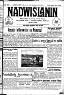Nadwiślanin. Gazeta Ziemi Chełmińskiej, 1932.10.12 R. 14 nr 233