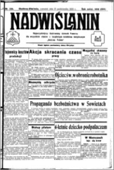 Nadwiślanin. Gazeta Ziemi Chełmińskiej, 1932.10.13 R. 14 nr 234