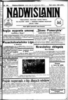 Nadwiślanin. Gazeta Ziemi Chełmińskiej, 1932.10.14 R. 14 nr 235