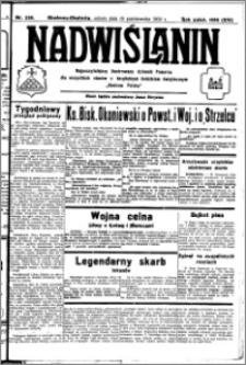 Nadwiślanin. Gazeta Ziemi Chełmińskiej, 1932.10.15 R. 14 nr 236