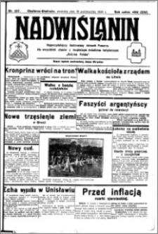 Nadwiślanin. Gazeta Ziemi Chełmińskiej, 1932.10.16 R. 14 nr 237