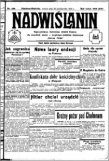 Nadwiślanin. Gazeta Ziemi Chełmińskiej, 1932.10.18 R. 14 nr 238