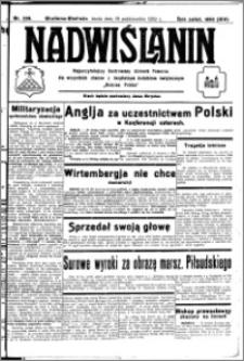 Nadwiślanin. Gazeta Ziemi Chełmińskiej, 1932.10.19 R. 14 nr 239