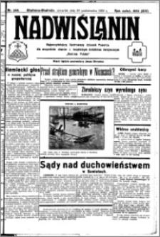 Nadwiślanin. Gazeta Ziemi Chełmińskiej, 1932.10.20 R. 14 nr 240