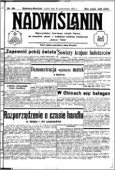 Nadwiślanin. Gazeta Ziemi Chełmińskiej, 1932.10.21 R. 14 nr 241