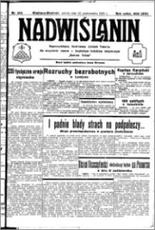 Nadwiślanin. Gazeta Ziemi Chełmińskiej, 1932.10.22 R. 14 nr 242