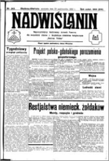 Nadwiślanin. Gazeta Ziemi Chełmińskiej, 1932.10.23 R. 14 nr 243