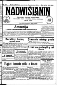Nadwiślanin. Gazeta Ziemi Chełmińskiej, 1932.10.27 R. 14 nr 246