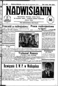 Nadwiślanin. Gazeta Ziemi Chełmińskiej, 1932.10.28 R. 14 nr 247