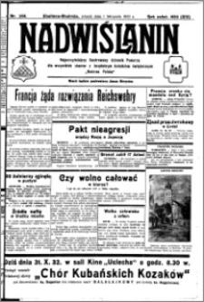 Nadwiślanin. Gazeta Ziemi Chełmińskiej, 1932.11.01 R. 14 nr 250