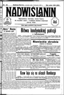 Nadwiślanin. Gazeta Ziemi Chełmińskiej, 1932.11.03 R. 14 nr 251