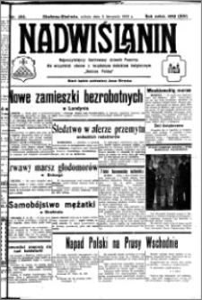 Nadwiślanin. Gazeta Ziemi Chełmińskiej, 1932.11.05 R. 14 nr 253