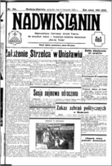 Nadwiślanin. Gazeta Ziemi Chełmińskiej, 1932.11.06 R. 14 nr 254