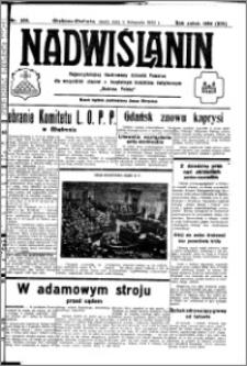 Nadwiślanin. Gazeta Ziemi Chełmińskiej, 1932.11.09 R. 14 nr 256