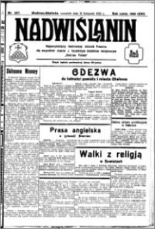 Nadwiślanin. Gazeta Ziemi Chełmińskiej, 1932.11.10 R. 14 nr 257