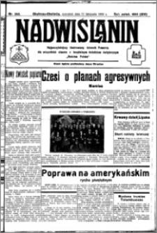 Nadwiślanin. Gazeta Ziemi Chełmińskiej, 1932.11.17 R. 14 nr 262