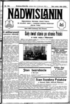 Nadwiślanin. Gazeta Ziemi Chełmińskiej, 1932.11.19 R. 14 nr 264