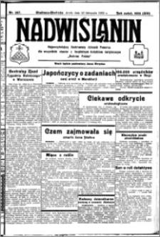 Nadwiślanin. Gazeta Ziemi Chełmińskiej, 1932.11.23 R. 14 nr 267