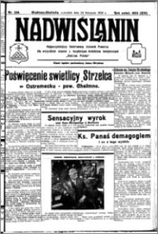 Nadwiślanin. Gazeta Ziemi Chełmińskiej, 1932.11.24 R. 14 nr 268