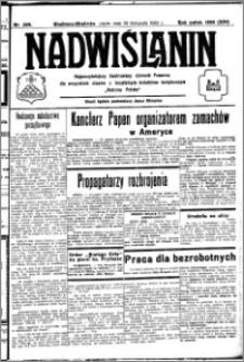 Nadwiślanin. Gazeta Ziemi Chełmińskiej, 1932.11.25 R. 14 nr 269