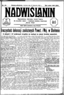 Nadwiślanin. Gazeta Ziemi Chełmińskiej, 1932.11.27 R. 14 nr 271