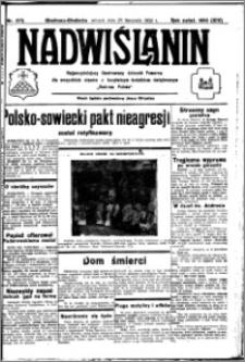 Nadwiślanin. Gazeta Ziemi Chełmińskiej, 1932.11.29 R. 14 nr 272