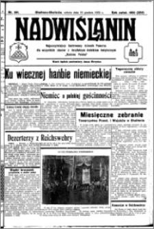 Nadwiślanin. Gazeta Ziemi Chełmińskiej, 1932.12.10 R. 14 nr 281
