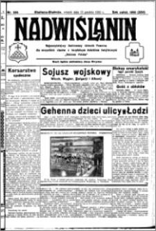 Nadwiślanin. Gazeta Ziemi Chełmińskiej, 1932.12.13 R. 14 nr 283
