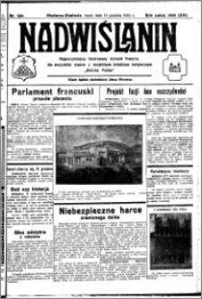 Nadwiślanin. Gazeta Ziemi Chełmińskiej, 1932.12.14 R. 14 nr 284