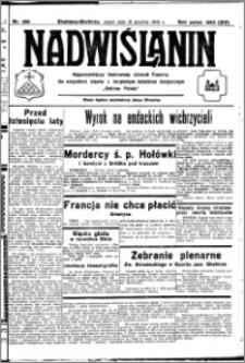 Nadwiślanin. Gazeta Ziemi Chełmińskiej, 1932.12.16 R. 14 nr 286
