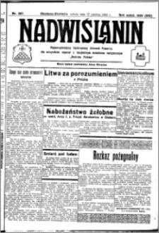 Nadwiślanin. Gazeta Ziemi Chełmińskiej, 1932.12.17 R. 14 nr 287