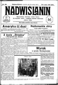 Nadwiślanin. Gazeta Ziemi Chełmińskiej, 1932.12.18 R. 14 nr 288