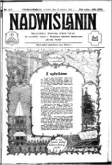 Nadwiślanin. Gazeta Ziemi Chełmińskiej, 1932.12.25 R. 14 nr 293